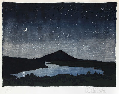 Neil G. Welliver, 'Night Scene'
