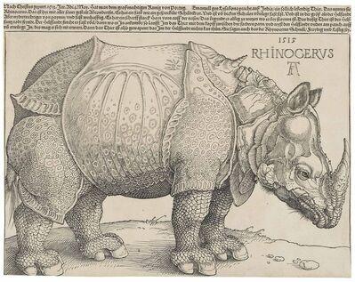 Albrecht Dürer, 'The Rhinoceros (B. 136; M., Holl. 241; S.M.S. 241)', 1515