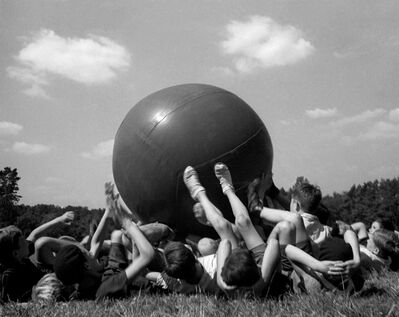 Fred Stein, 'Big Ball, France', 1936