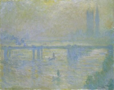 Claude Monet, 'Charing Cross Bridge', 1902