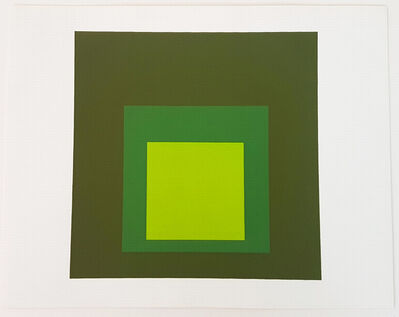 Josef Albers, 'Homage to the Square: Tuscany', 1962