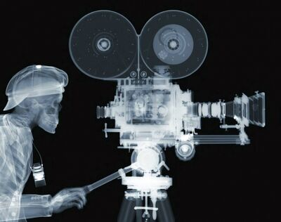 Nick Veasey, 'Film Director Crop', 2015