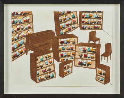 Neil Farber, 'Bookcase Kids and Fire Kids', 2002 / 2001