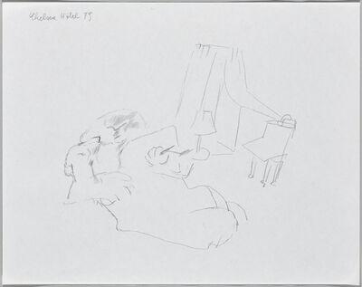 Maria Lassnig, 'Chelsea Hotel', 1979