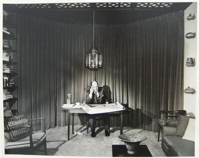 Pedro E. Guerrero, 'Edward Durrell Stone Townhouse, New York City, Portrait is His Studio', 1957