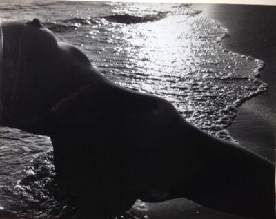 Lucien Clergue, 'Nu de la plage, Camargue', 1971
