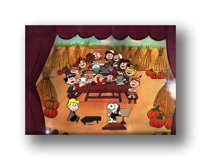 Peanuts, 'Met Life T.V. Commercial: THANKSGIVING', 1988