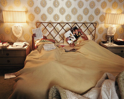 Larry Sultan, 'Reading in Bed, from the series Pictures from Home ', 1988