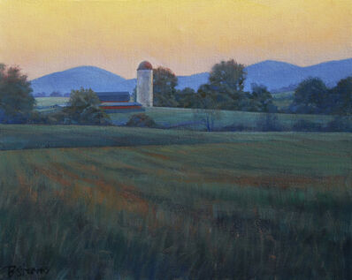 Bradley Stevens, 'Farm at Dusk'
