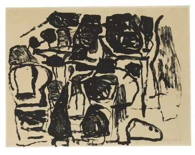 Philip Guston, 'Untitled: two prints', 1963 and 1966