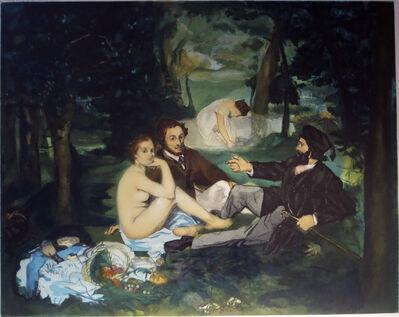 Jacques Villon, 'Le Déjeuner sur l'herbe  after Edouard Manet', 1929
