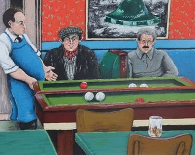 David Azuz, 'Pool Hall ', ca. 1980