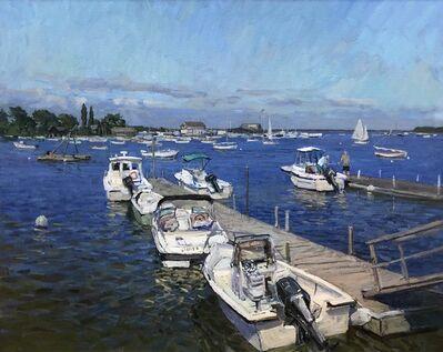 Victor Butko, 'Docks at Dering Harbor', 2019