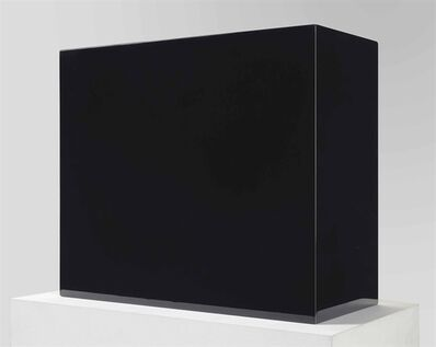 John McCracken, 'Black Block'