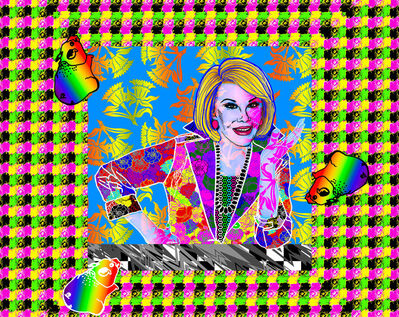 "Ben Copperwheat, '""Joan Rivers""', ca. 2016"