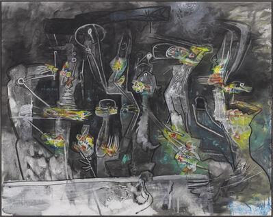 Roberto Matta, 'M'agie Noire', 1986