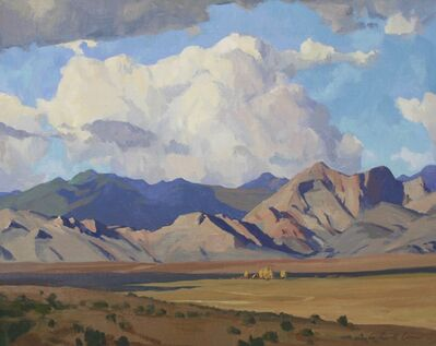 G. Russell Case, 'Nevada Skies', 2017