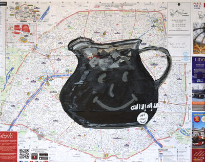 Susan Spangenberg, 'Terrorism - Don't Drink the Kool-Aid', 2015