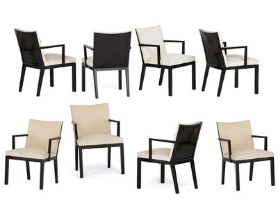 Edward Wormley, 'Eight dining chairs', 1950s