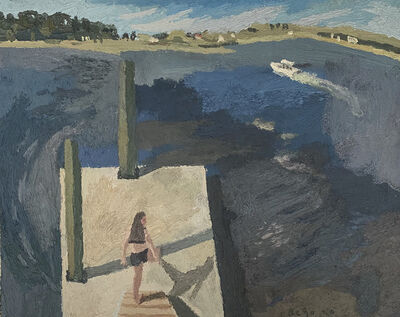 Brian Rego, 'Girl on Dock', 2020