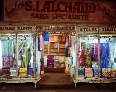 Laura McPhee, 'Saree Shop, New Market, Kolkata 4/5'