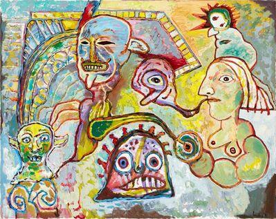 Lucebert, 'Holy Smoke', 1992