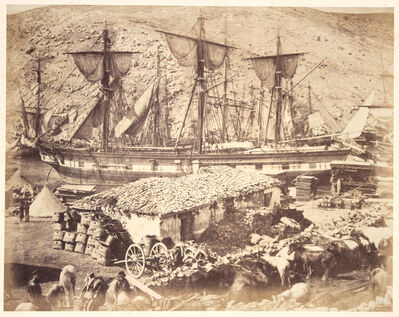 Roger Fenton, 'Harbour of Balaklava, The Cattle Pier.', ca. 1855