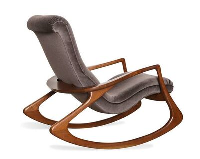 Vladimir Kagan, 'Contour Rocking Chair', ca. 1975