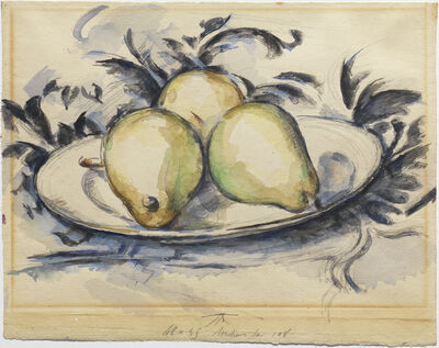Paul Cézanne, 'Three Pears', ca. 1888-90