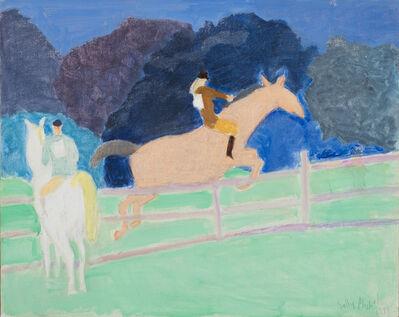 Sally Michel Avery, 'Horse Show', 1979