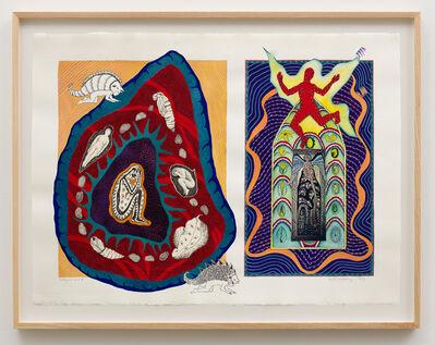 Faith Wilding, 'Hildegard and I', 1986