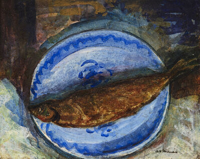 Alfred H. Maurer, 'Still Life with Fish ', Date unknown