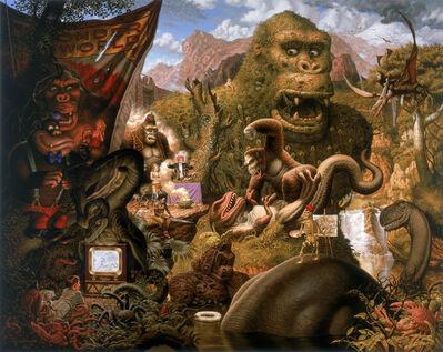Todd Schorr, 'Ape Worship', 2009
