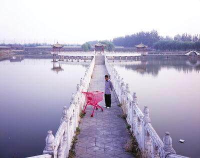 Manit Sriwanichpoom, 'Beijing Pink #1: Pond', 2006