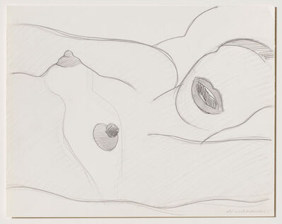 Tom Wesselmann, 'Drawing for Great American Nude', 1965