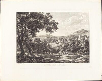 Albert Christoph Dies, 'Tempio della Tosse a Tivoli', 1793