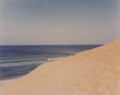 Joel Meyerowitz, 'Two works in the Cape Dunes', 1984, printed 1985; 1983, printed 1985