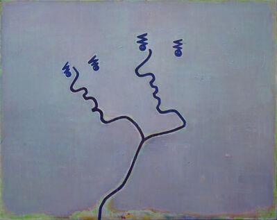 Tang Yongxiang, 'Two Linked Profiles', 2014
