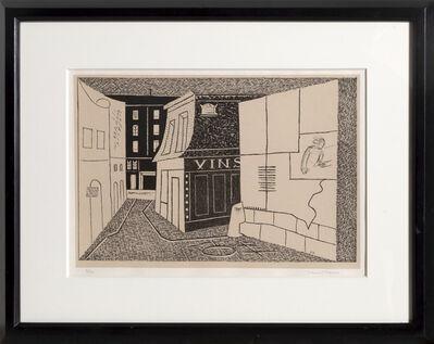 Stuart Davis, 'Rue des Rats', 1928