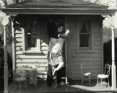 "Sally Mann, 'Untitled from the ""At Twelve"" Series, Julie, John and Dollhouse', 1983-1985"
