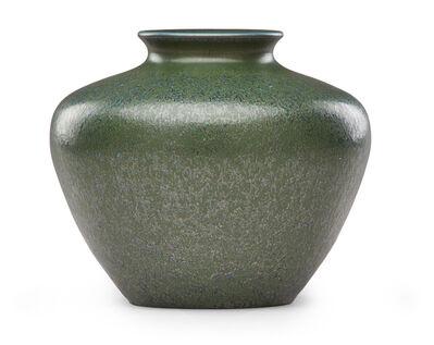 Grand Feu, 'Rare and exceptional vase, Moss Crystals glaze', 1916-18