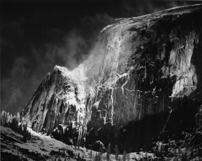 Ansel Adams, 'Half Dome, Blowing Snow, Yosemite National Park, California', 1955