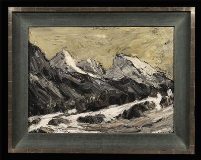 Kyffin Williams, 'The Moelwyns in Winter'