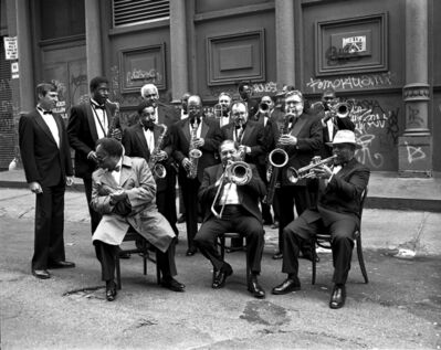 Arthur Elgort, 'Lincoln Center Jazz Orchestra, New York', 1992