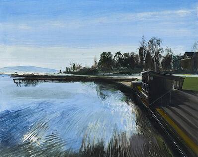 Calum McClure, 'Bathing Cabin, Nyon'