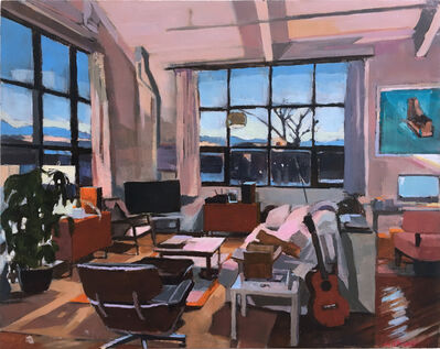 Aaron Hauck, 'Evening Sunset Living Room', 2018