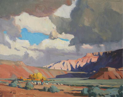 """G. Russell Case, '""""Sage and Shadow""""', 2016"""