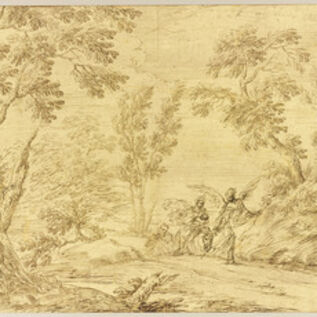 Pier Francesco Cittadini, 'The Flight into Egypt', 1650-1680