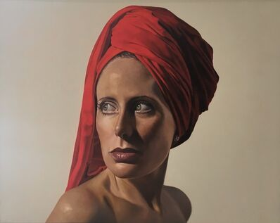 Toby Boothman, 'Girl with the Red Turban'