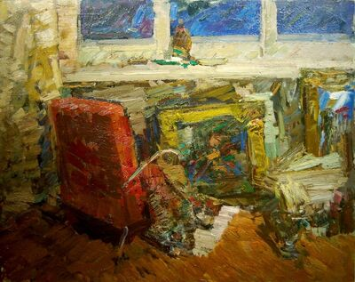 Fedor Zakharov, 'Interior in the Studio', 1959